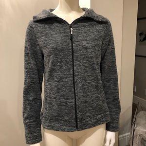 Calvin Klein Zip Up Sweater | Super Soft